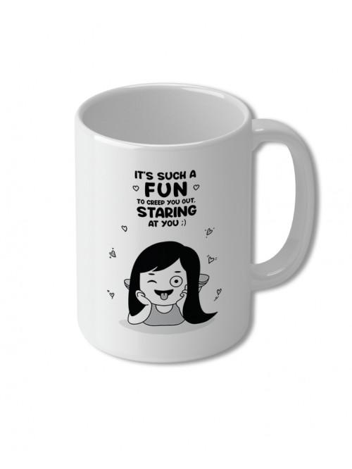 Fun staring at you - Mug