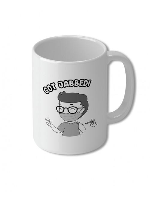 KT Got Jabbed - Mug