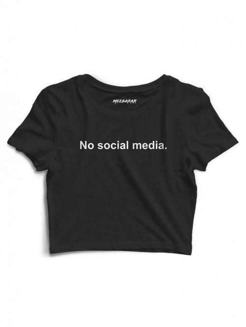 No Social Media