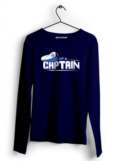 As a Captain