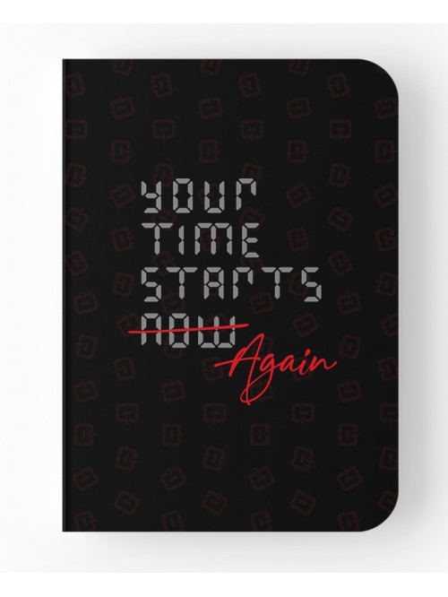 Your time starts again - Notebook