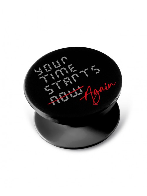 Your time starts again - Pop Grip