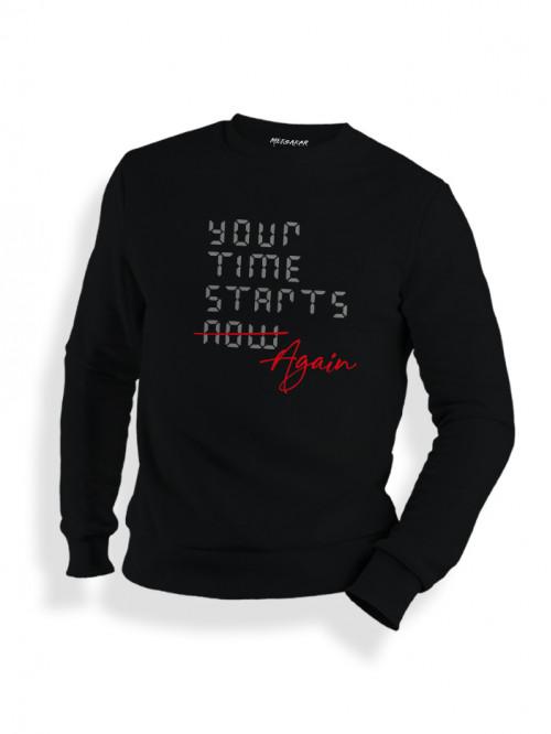 Your time starts again - Sweatshirt
