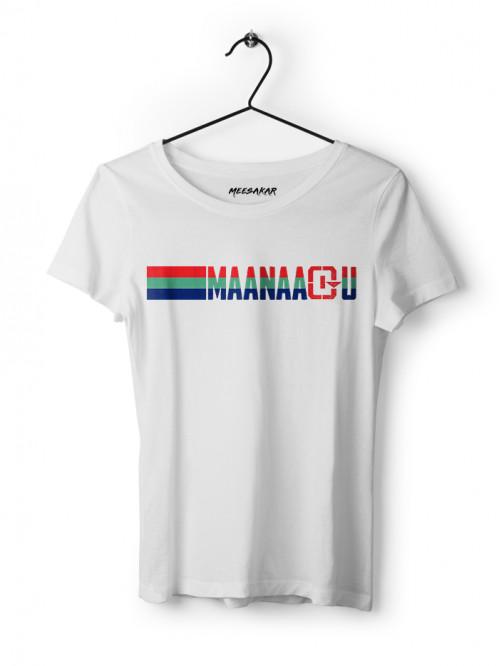 Maanaadu Flag - Women's Half sleeve