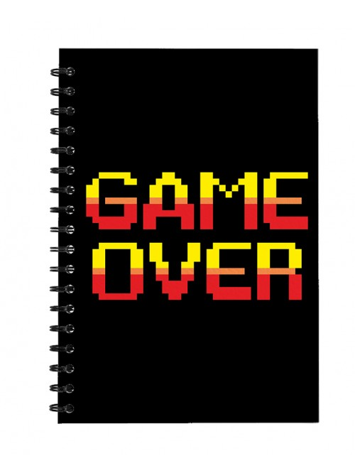Game Over - Notepad