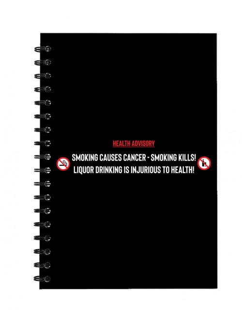 Health Advisory - Notepad