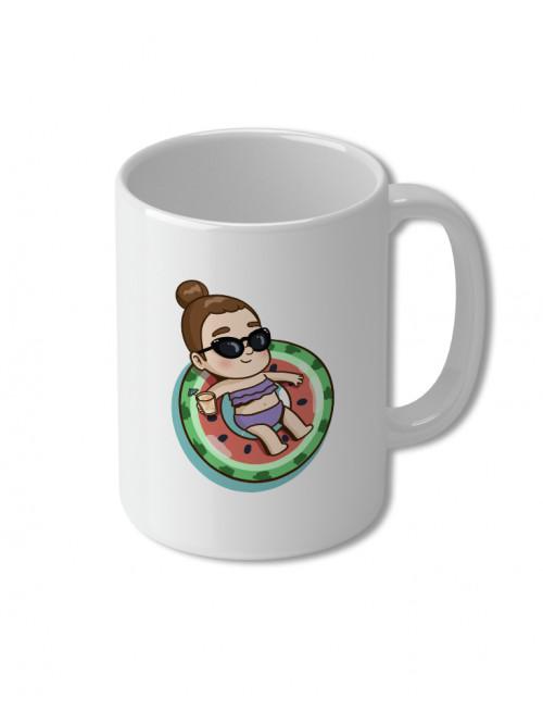 Pi Swims - Mug