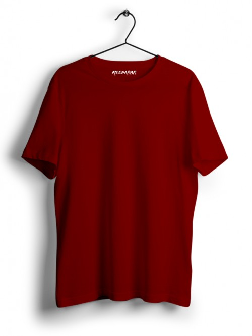 Half Sleeve : Brick Red