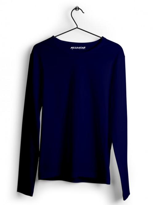 Full Sleeve : Navy Blue