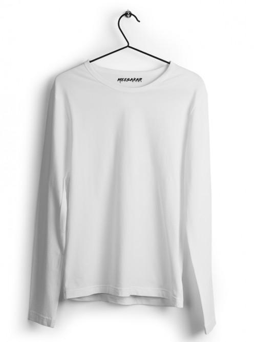 Full Sleeve : White