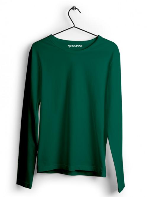 Full Sleeve : Bottle Green