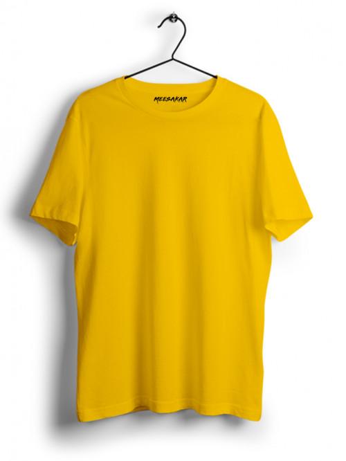 Half Sleeve : Golden Yellow