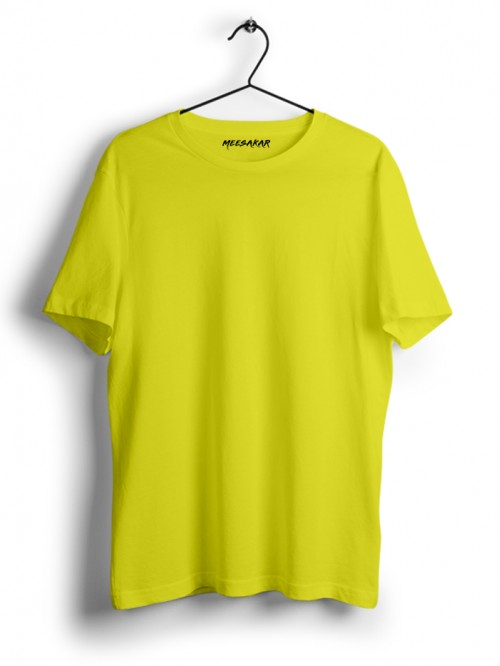 Half Sleeve : Pale Yellow