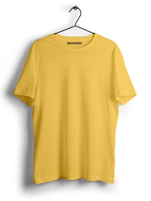 Half Sleeve : Light Yellow