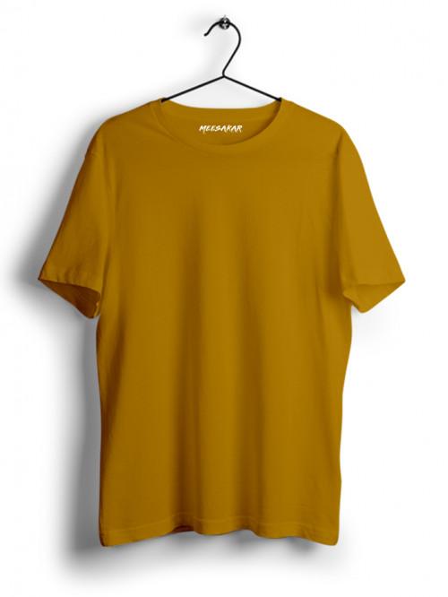 Half Sleeve : Mustard Yellow