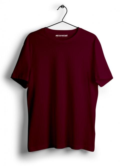 Half Sleeve : Maroon