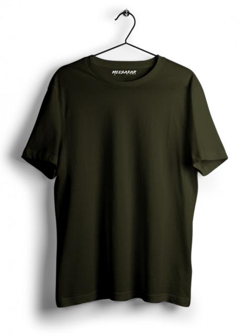 Half Sleeve : Olive Green
