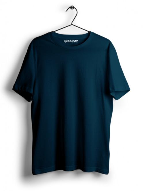 Half Sleeve : Petrol Blue