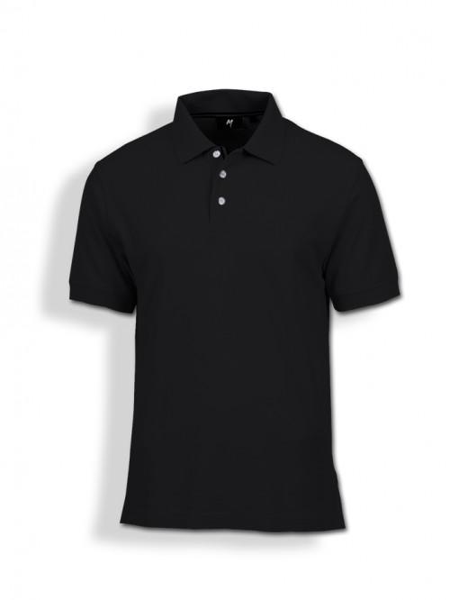 Polo Tee : Black