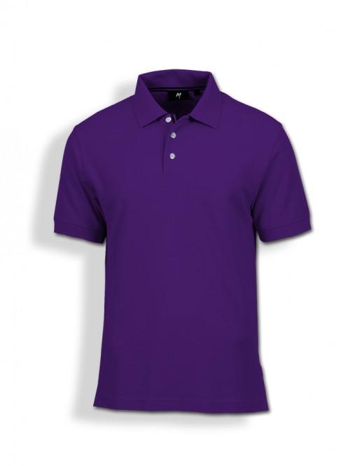 Polo Tee : Purple
