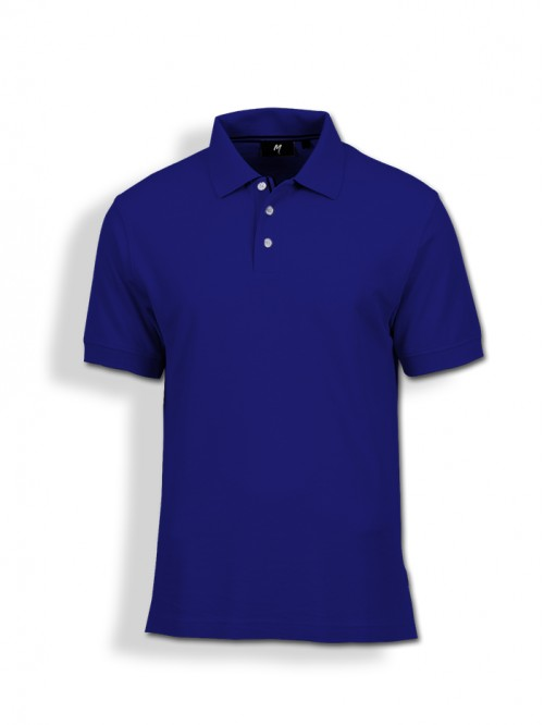Polo Tee : Royal Blue
