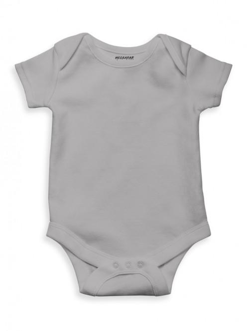 Kids Romper: Grey Melange