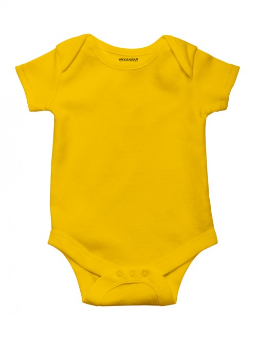 Kids Romper: Golden Yellow