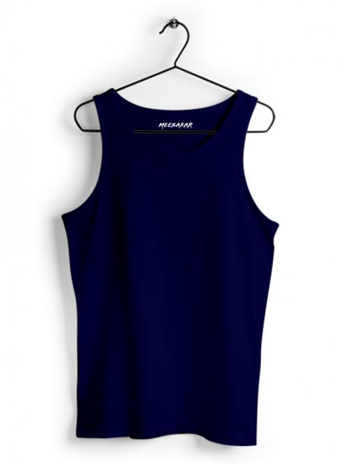 Tank Top : Navy Blue