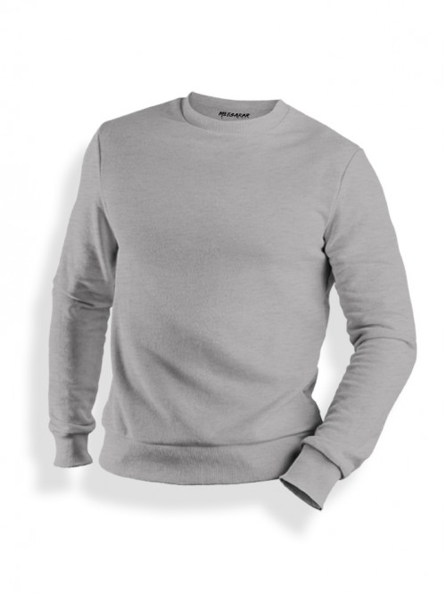 Sweatshirt : Grey Melange