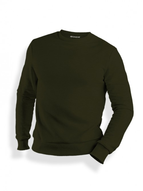 Sweatshirt : Olive Green
