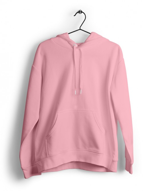Hoodie : Baby Pink