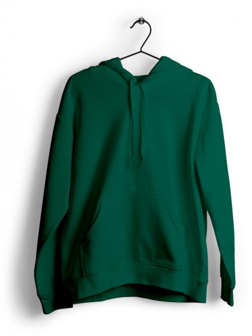 Hoodie : Bottle Green
