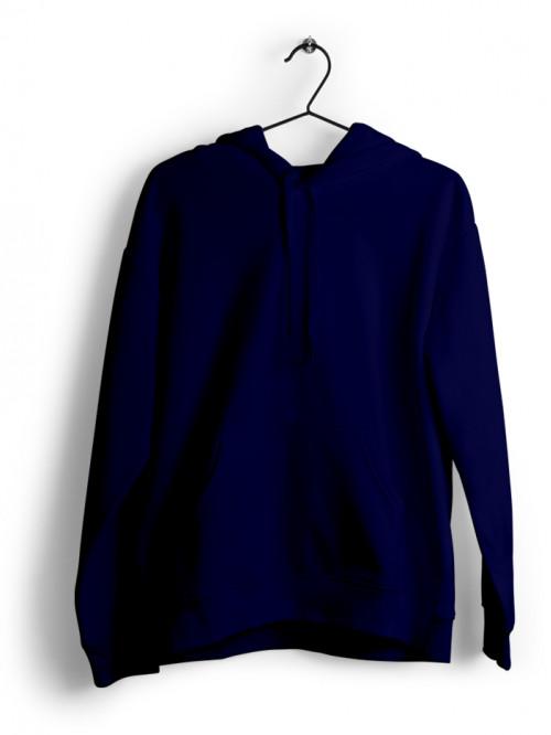 Hoodie : Navy Blue