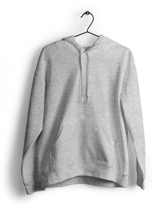 Hoodie : Grey Melange