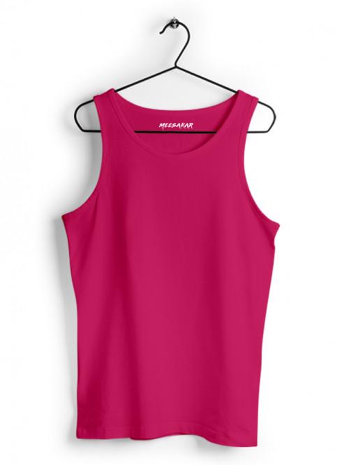 Tank Top - Women : Pink